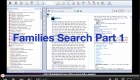 Families Search Part 1