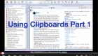 Using Clipboards Part 1