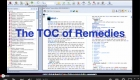 The TOC of Remedies