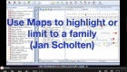 Use Maps to highlight or limit to a family (Jan Scholten)