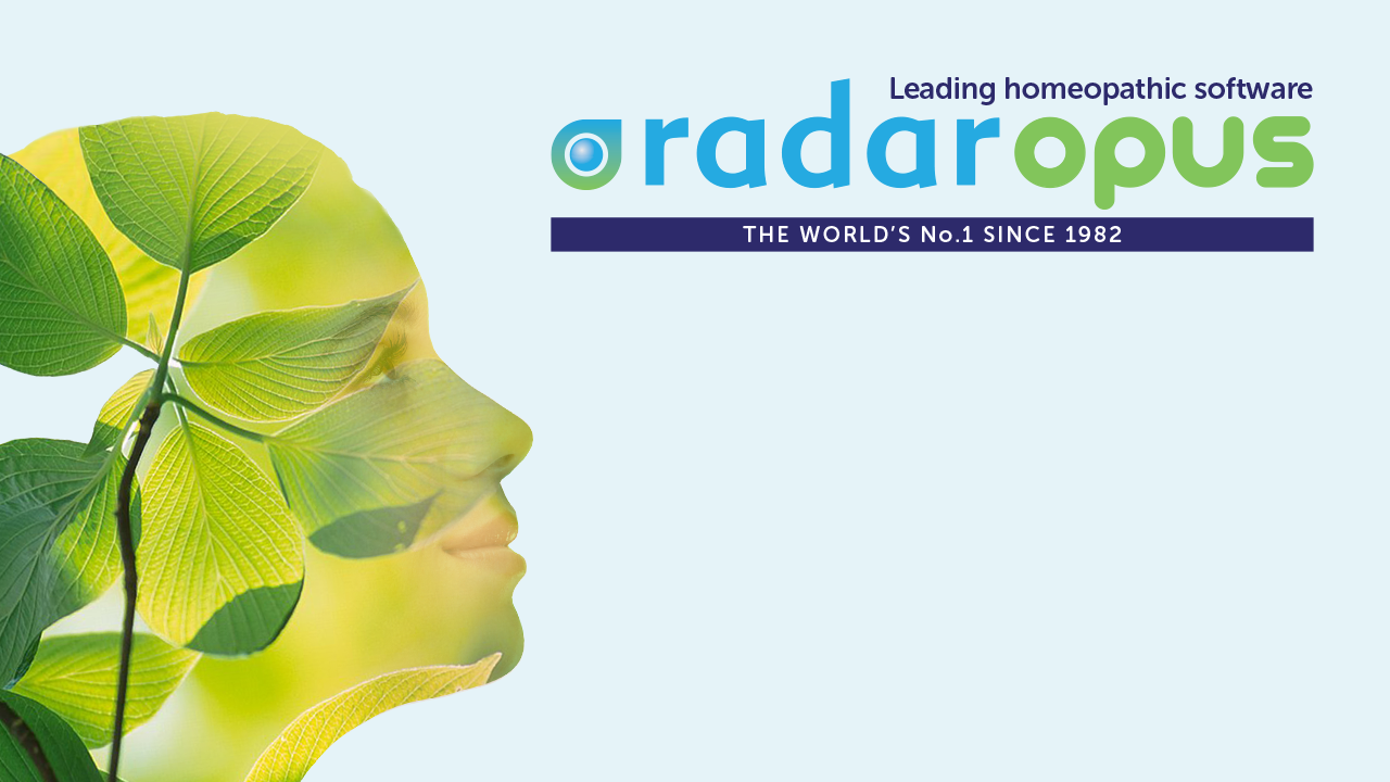 RadarOpus Homeopathic Software