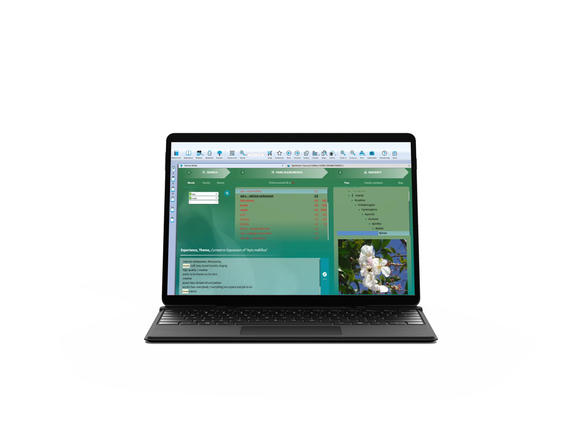 PC laptop Opus families